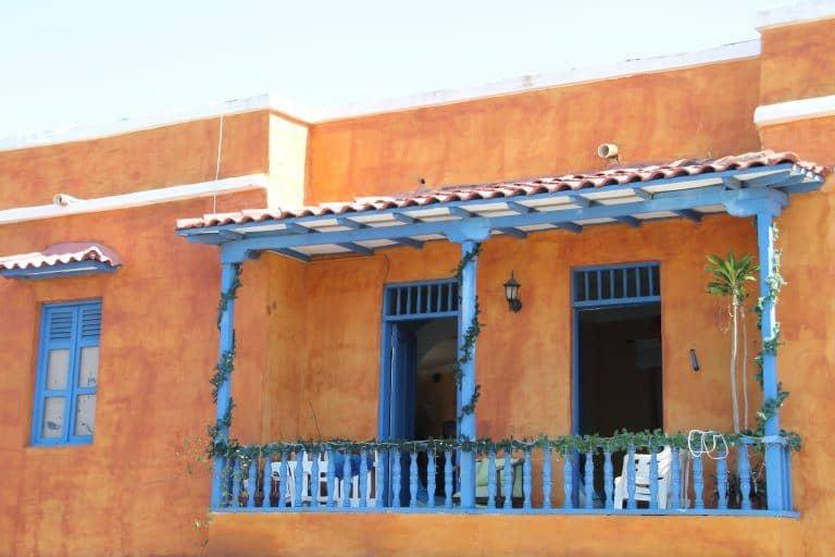 Cartagena – orange and blue, Jan.2017 (Cartagena)