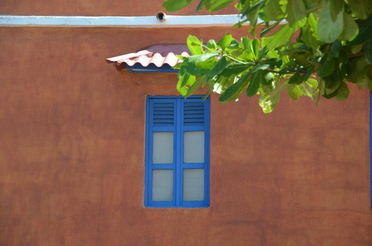 Cartagena – blue window, Jan.2017 (Cartagena)