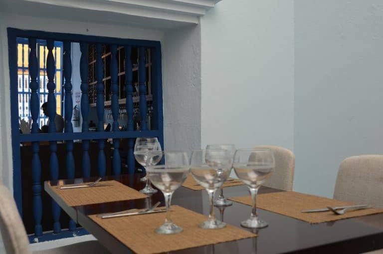 Cartagena, restaurant – interior 2, Jan.2017 (Cartagena)