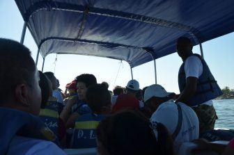 カルタヘナ、港-ボート 2017年1月