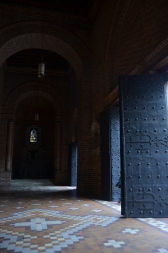Medellin, cathedral – doors, Dec.2016