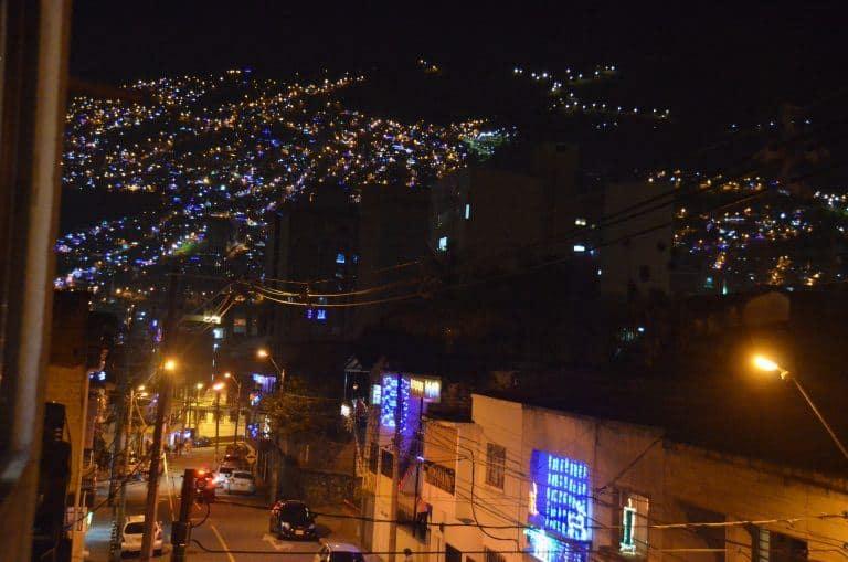 Party di fine anno a Medellin