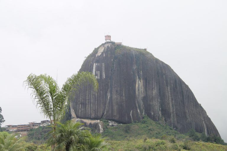 La rocca chiamata Piedra del Penol