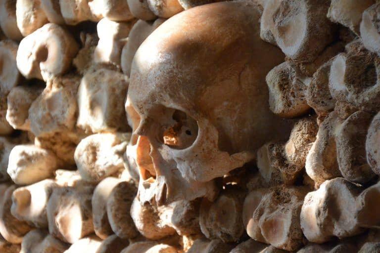 La aterradora capilla de los huesos