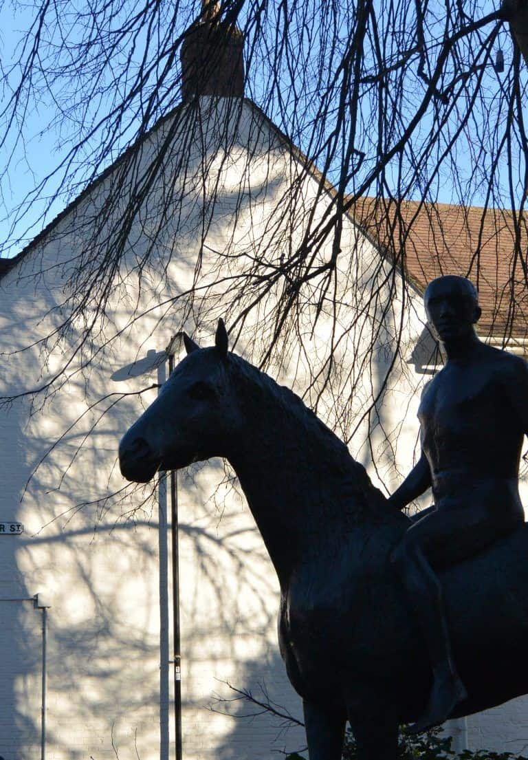 Winchester – Horse and Rider, Mar.2017 (Winchester)