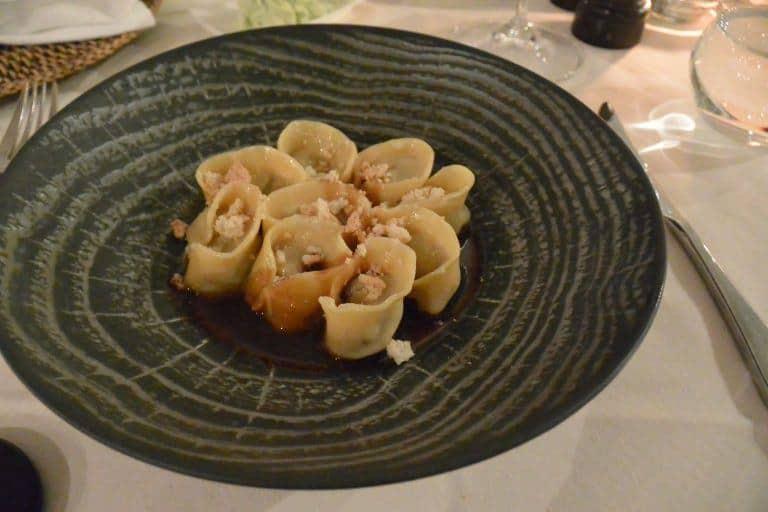 ブルノのイタリア料理店