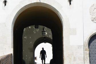 ブルノ、城-入口 2017年5月