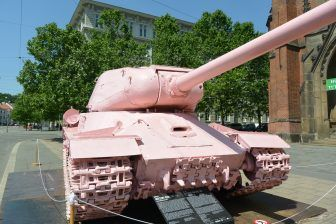 Pink Tank, the nuclear shelter and the sausages