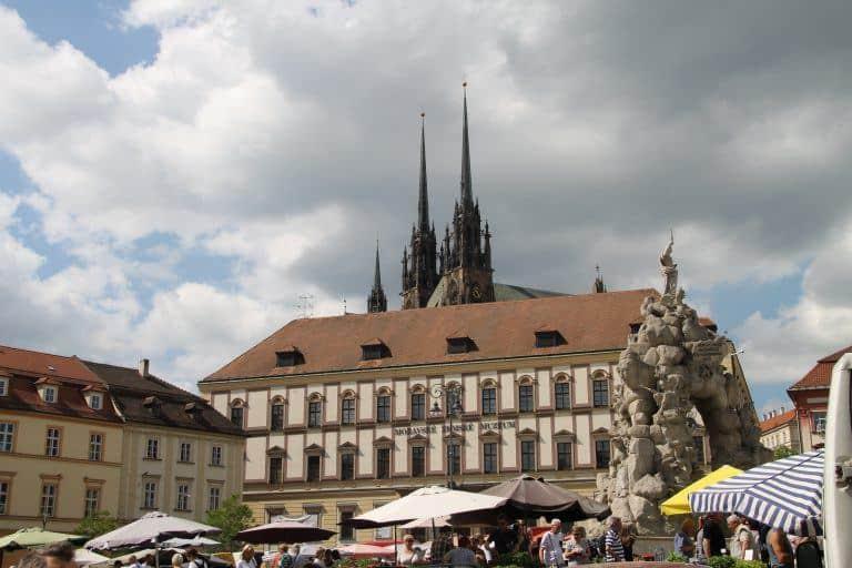 Tour a pie gratuito en Brno, parte 2