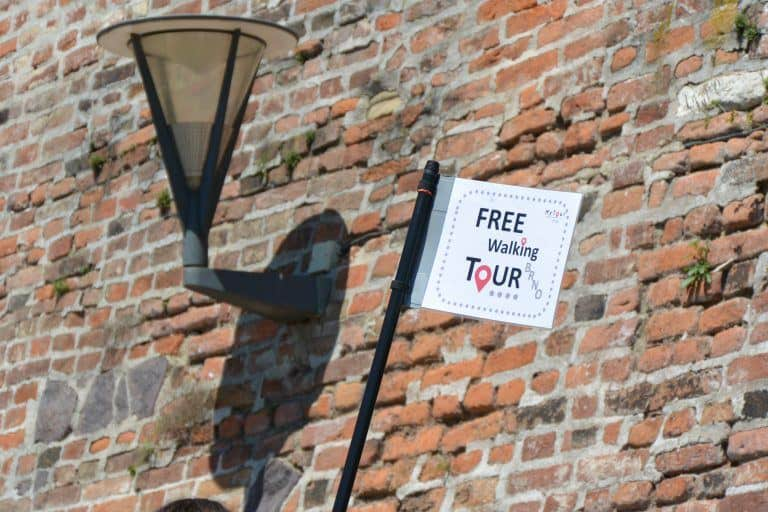 Tour a pie gratuito en Brno, también