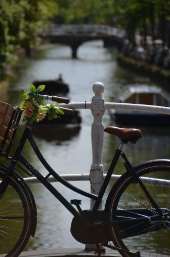 Delft – yellow bicycle, June 2017