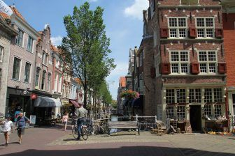 The town of Delft and Delftware