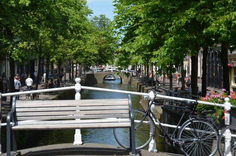 Delft – canal, June 2017 (Delft)