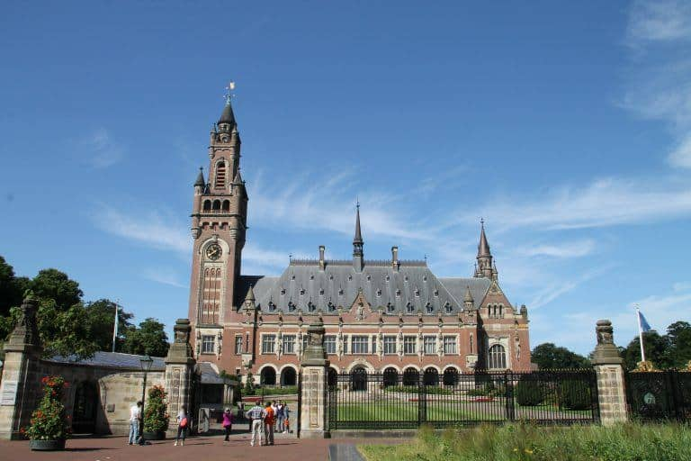 The Hague is the practical capital city