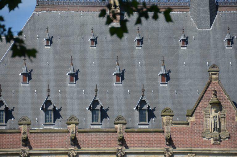 デン・ハーグ-裁判所の屋根 2017年6月 (デン・ハーグ)