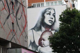 ブリストル-壁の絵1 2017年8月
