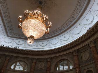 エルミタージュ劇場の天井