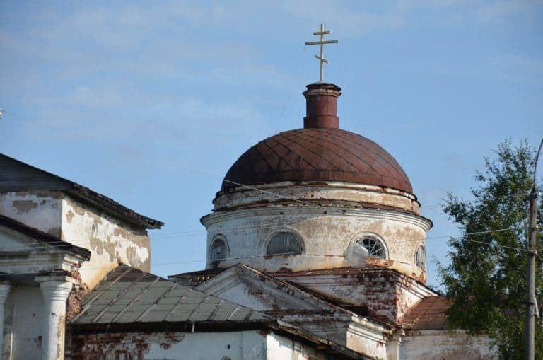Kirillo-Belozersky Monastery – dome, Aug.2017 (Kirillov)