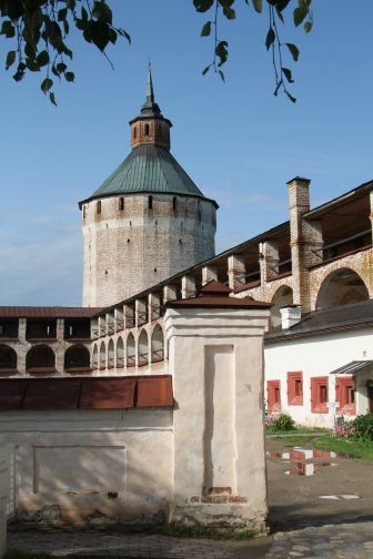Kirillo-Belozersky Monastery – entrance, Aug.2017