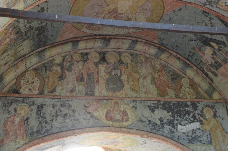 Kirillo-Belozersky Monastery – frescoes, Aug.2017 (Kirillov)