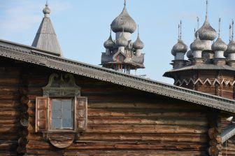 Le chiese sull'isola di Kiži