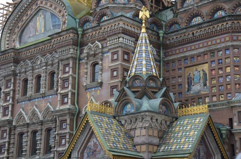 サンクトペテルブルクの名所めぐり
