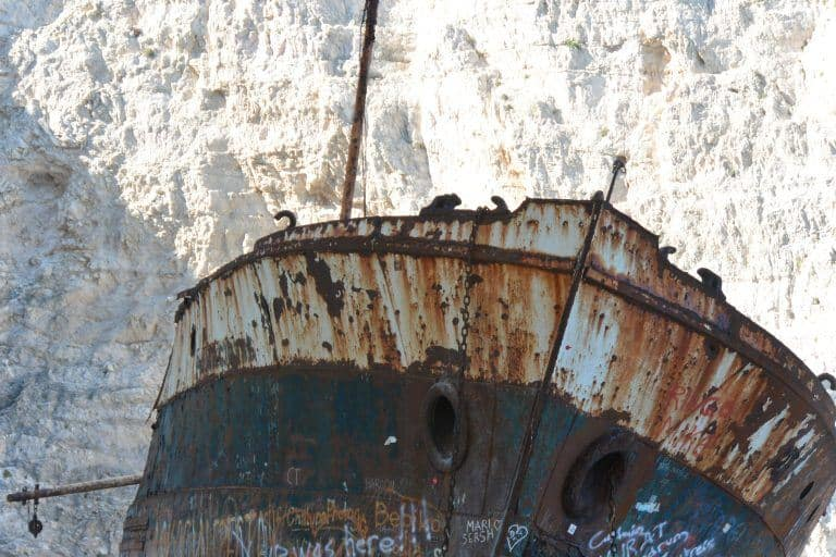 A la playa del naufragio