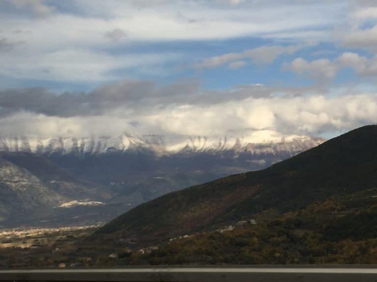 to Pescara via Rome