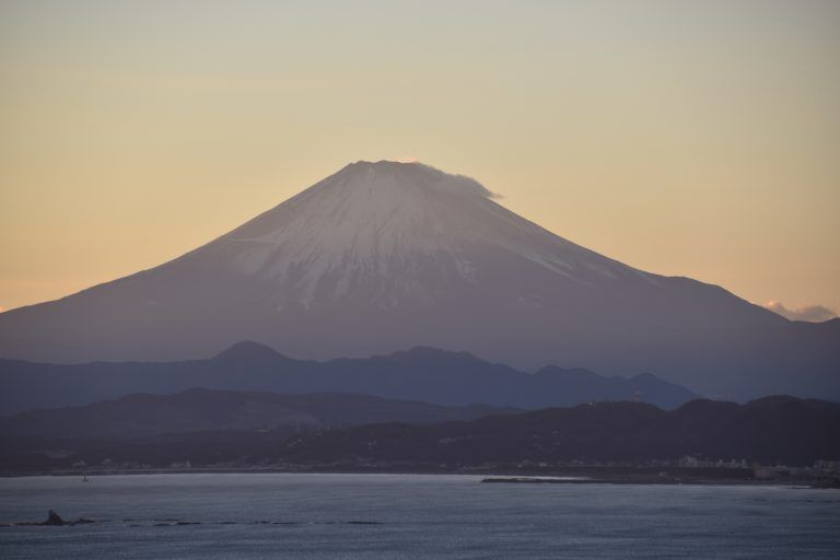 Mt. Fuji from Enoshima