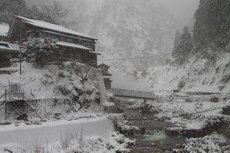 長野-電車の中 2017年12月