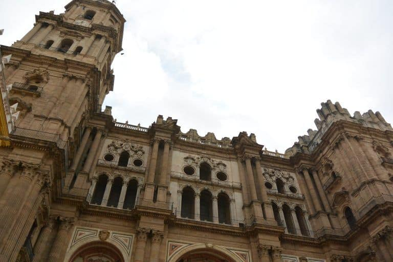 the walking tour in Malaga — about the Cathedral