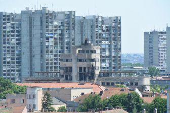 Riguardo Slava il santo, a Zemun (Belgrado)