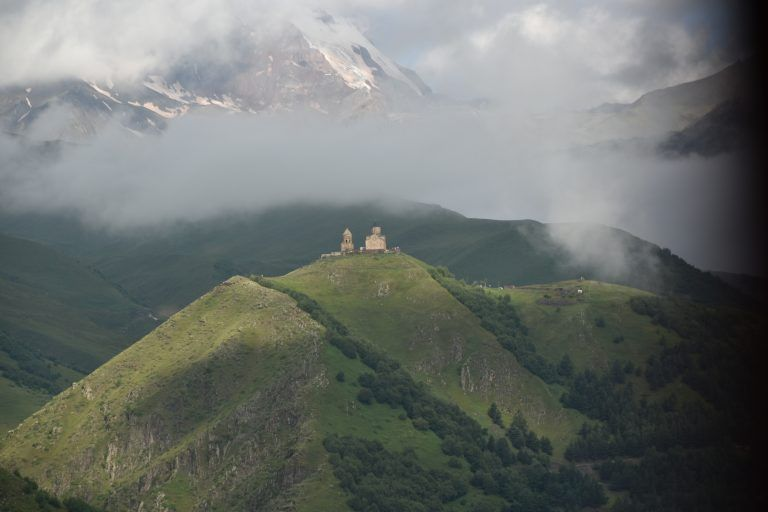 Georgia, Stepantsminda (Kazbegi)