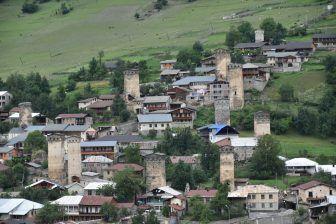 To the Svaneti Region