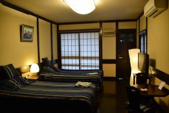 日本 秋田県 角館 田町武家屋敷ホテル 客室 和洋折衷