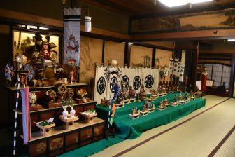 日本 秋田県 角館 安藤醸造 屋敷蔵 五月人形