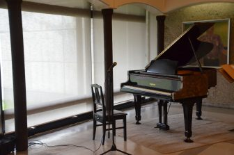 Japan-Akita-Kakunodate-Hirafuku memorial Gallery-the Miraculous Piano
