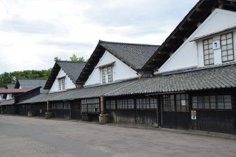 Antichi magazzini a Sakata