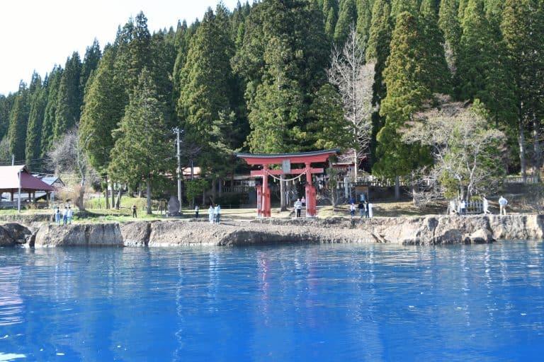 Surprising Blue of Lake Tazawa