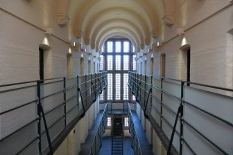 リンカーン城内に残る牢屋