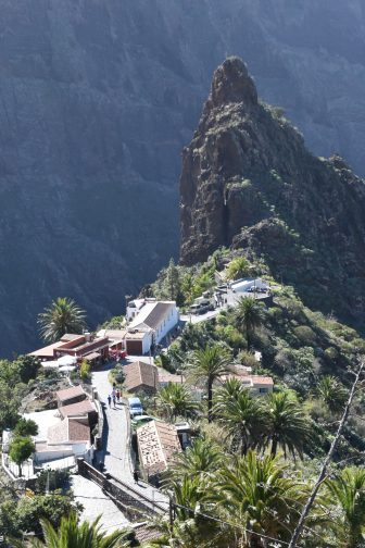 View of Masca in Tenerife