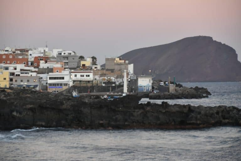 The Last Evening in Tenerife