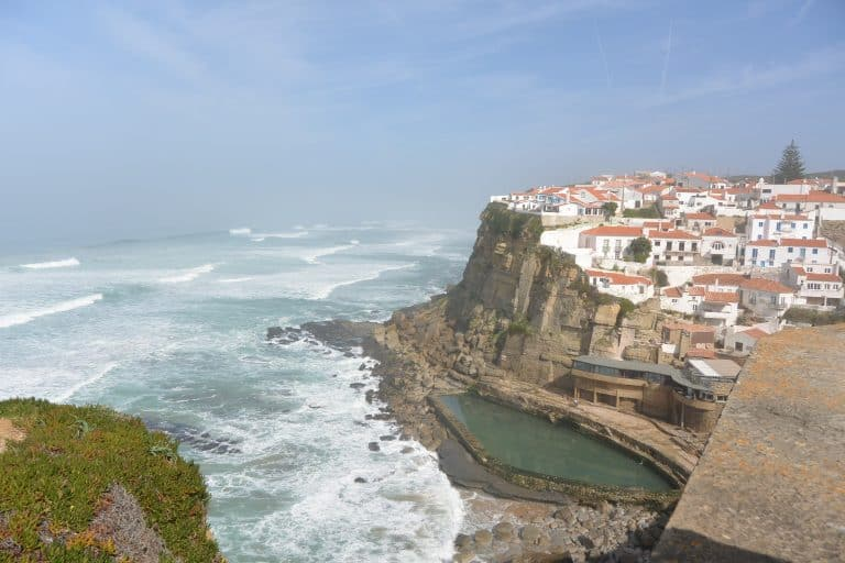 The Waves of Azenhas do Mar and the Goat Meal