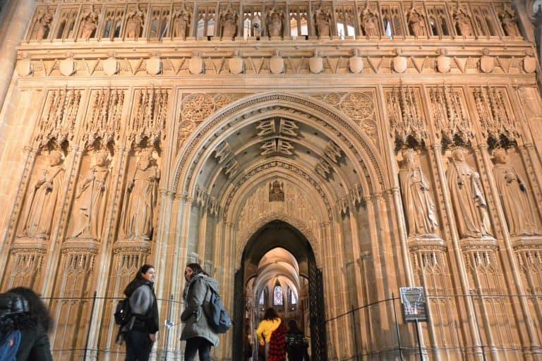 Visita a la Catedral de Canterbury