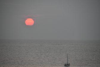 Bathing and Sunset on Miyako-jima