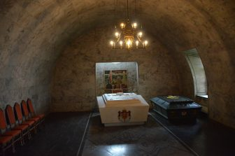 Norway-Oslo-Akershus Castle-royal family-coffins