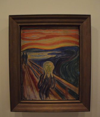 Norway-Oslo-Munch Museum-'Scream'