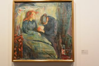 Norway-Oslo-Munch Museum-'Sick Child'