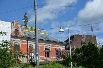 Norway-Oslo-Akerselva river-brewery building