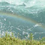 カナダ ナイアガラ 滝 虹